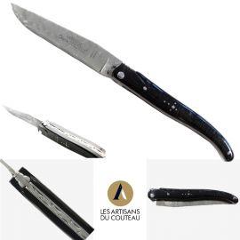 Couteau Laguiole Damas en...