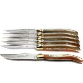 Coffret 6 couteaux Laguiole...