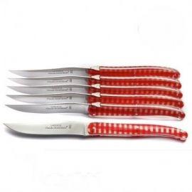 Coffret 6 couteaux Vichy,...