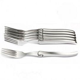 Coffret 6 fourchettes inox...