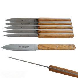 Coffret 6 couteaux Navette...