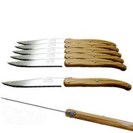 Coffret 6 couteaux bois...